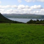 Full Tilt Field | View of the Blomidon Mountains